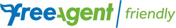 freeagent friendly logo